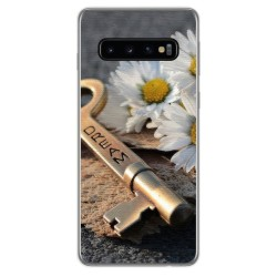 FUNDA de GEL TPU para Samsung Galaxy S10 Plus diseño Dream Dibujos