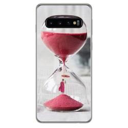 FUNDA de GEL TPU para Samsung Galaxy S10 Plus diseño Reloj Dibujos
