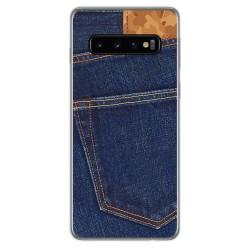 FUNDA de GEL TPU para Samsung Galaxy S10 Plus diseño Vaquero Dibujos