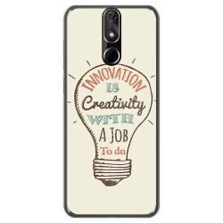FUNDA de GEL TPU para Cubot Power diseño Creativity Dibujos