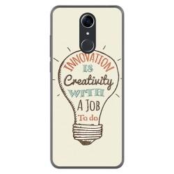 FUNDA de GEL TPU para Cubot Nova diseño Creativity Dibujos