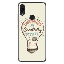FUNDA de GEL TPU para Xiaomi Redmi Note 7 diseño Creativity Dibujos