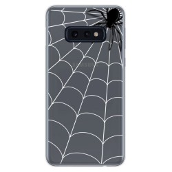Funda Gel Transparente para Samsung Galaxy S10e diseño Araña Dibujos