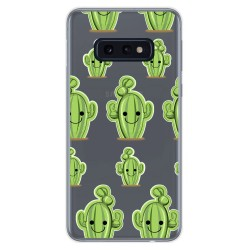 Funda Gel Transparente para Samsung Galaxy S10e diseño Cactus Dibujos