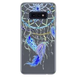 Funda Gel Transparente para Samsung Galaxy S10e diseño Plumas Dibujos