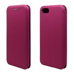 Funda Libro Soporte Magnética marca Vennus Rosa para Huawei Honor 7S / Y5 2018