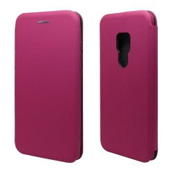 Funda Libro Soporte Magnética marca Vennus Rosa para Huawei Mate 20