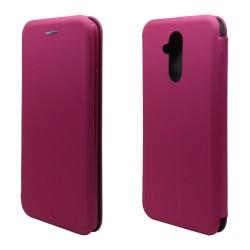 Funda Libro Soporte Magnética marca Vennus Rosa para Huawei Mate 20 Lite