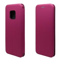 Funda Libro Soporte Magnética marca Vennus Rosa para Huawei Mate 20 Pro