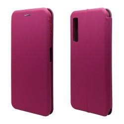Funda Libro Soporte Magnética marca Vennus Rosa para Samsung Galaxy A7 (2018)
