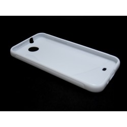 Funda Gel Tpu HTC Desire 300 S Line Color Blanca