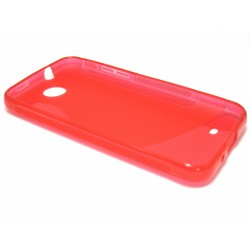 Funda Gel Tpu HTC Desire 300 S Line Color Roja