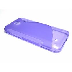 Funda Gel Tpu HTC Desire 300 S Line Color Morada
