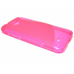 Funda Gel Tpu HTC Desire 300 S Line Color Rosa