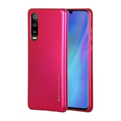 Funda Gel Tpu Mercury i-Jelly Metal para Huawei P30 color Rosa