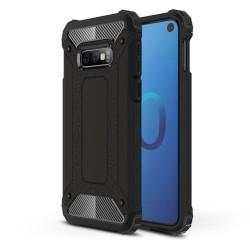 Funda Tipo Hybrid Tough Armor (Pc+Tpu) Negra para Samsung Galaxy S10e