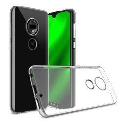 Funda Gel Tpu Fina Ultra-Thin 0,5mm Transparente para Motorola Moto G7 / G7 Plus