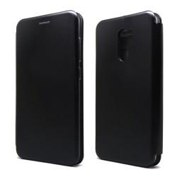 Funda Libro Soporte Magnética marca Forcell Negra para Xiaomi Pocophone F1