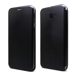 Funda Libro Soporte Magnética marca Forcell Negra para Samsung Galaxy J4+ Plus