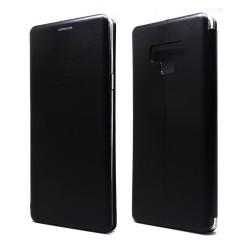 Funda Libro Soporte Magnética marca Forcell Negra para Samsung Galaxy Note 9