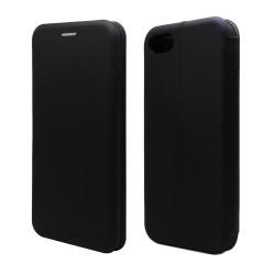 Funda Libro Soporte Magnética marca Vennus Negra para Iphone 7 / 8