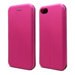 Funda Libro Soporte Magnética marca Vennus Rosa para Iphone 7 / 8