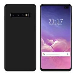 Funda Gel Tpu para Samsung Galaxy S10 Plus Color Negra