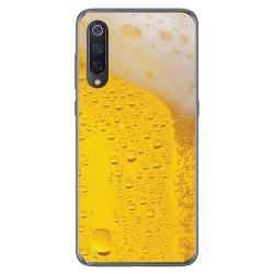Funda Gel Tpu para Xiaomi Mi 9 diseño Cerveza Dibujos