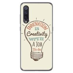 Funda Gel Tpu para Xiaomi Mi 9 diseño Creativity Dibujos
