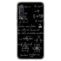 Funda Gel Tpu para Xiaomi Mi 9 diseño Formulas Dibujos
