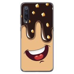 Funda Gel Tpu para Xiaomi Mi 9 diseño Helado Chocolate Dibujos