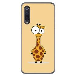 Funda Gel Tpu para Xiaomi Mi 9 diseño Jirafa Dibujos