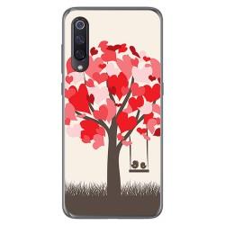 Funda Gel Tpu para Xiaomi Mi 9 diseño Pajaritos Dibujos