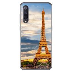 Funda Gel Tpu para Xiaomi Mi 9 diseño Paris Dibujos