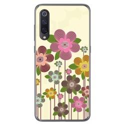 Funda Gel Tpu para Xiaomi Mi 9 diseño Primavera En Flor Dibujos