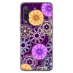 Funda Gel Tpu para Xiaomi Mi 9 diseño Radial Dibujos
