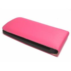 Funda Flip Premium Ultra-Slim HTC Desire 500 Rosa