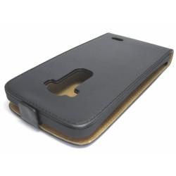Funda Piel Premium Ultra-Slim Lg G Flex D955 Negra