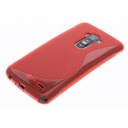 Funda Gel Tpu Lg G Flex D955 S Line Color Roja
