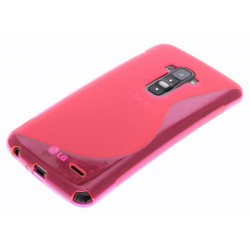 Funda Gel Tpu Lg G Flex D955 S Line Color Rosa