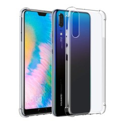 Funda Gel Tpu Anti-Shock Transparente para Huawei P30 Lite