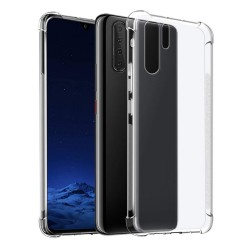 Funda Gel Tpu Anti-Shock Transparente para Huawei P30 Pro