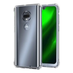 Funda Gel Tpu Anti-Shock Transparente para Motorola Moto G7 / G7 Plus