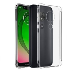 Funda Gel Tpu Anti-Shock Transparente para Motorola Moto G7 Play