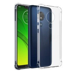 Funda Gel Tpu Anti-Shock Transparente para Motorola Moto G7 Power