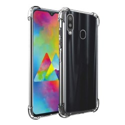 Funda Gel Tpu Anti-Shock Transparente para Samsung Galaxy M20