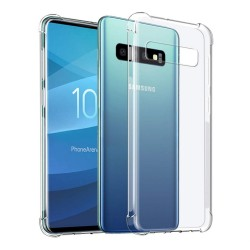 Funda Gel Tpu Anti-Shock Transparente para Samsung Galaxy S10 Plus