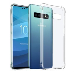 Funda Gel Tpu Anti-Shock Transparente para Samsung Galaxy S10e