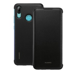 Funda Flip Cover Original color Negra para Huawei P Smart 2019 / Honor 10 Lite