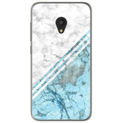 Funda Gel Tpu para Alcatel U5 (4G) / Orange Rise 52 diseño Mármol 02 Dibujos